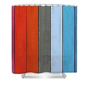 Color Range - Detail Of The Colored Pastels Shower Curtain