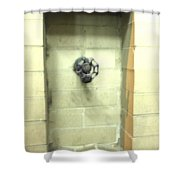 Color Spicket Shower Curtain