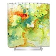 Color Spot 016 Shower Curtain