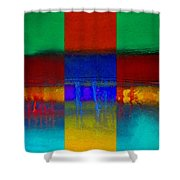 Color State Shower Curtain