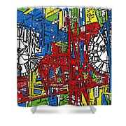 Color Time Shower Curtain