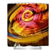 Color Twist Shower Curtain