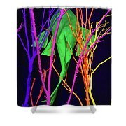 Color Under The Sea Shower Curtain