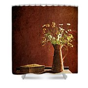 Color Wild Garden Shower Curtain