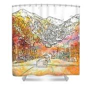 Colorado 01 Shower Curtain