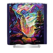 Colorado Abstract Shower Curtain