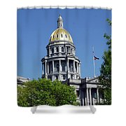 Colorado Capitol Building Shower Curtain