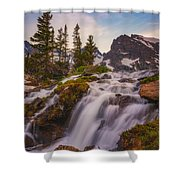 Colorado Cascading Waters Shower Curtain
