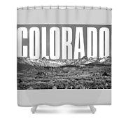 Colorado Cityscape Shower Curtain