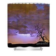 Colorado Cloud To Cloud Lightning Thunderstorm 27g Shower Curtain