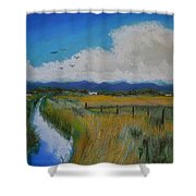 Colorado Creek Shower Curtain