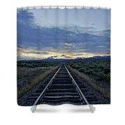 Colorado Daybreak Shower Curtain