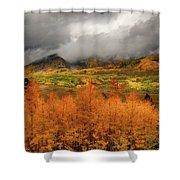 Colorado Fall Colors  Shower Curtain