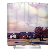 Colorado Farm Shower Curtain