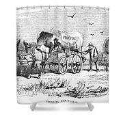 Colorado Gold Rush, 1859 Shower Curtain