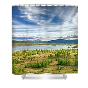 Colorado Landscape Shower Curtain