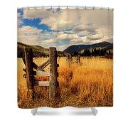 Colorado Meadow Shower Curtain