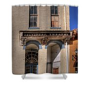 Belvidere Theatre Shower Curtain