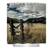 Colorado Mountain Meadow Shower Curtain
