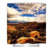 Colorado Mountain Splendor Shower Curtain