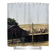 Colorado Past And Present Shower Curtain