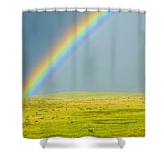 Colorado Rainbow Shower Curtain