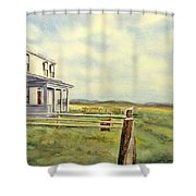 Colorado Ranch Shower Curtain