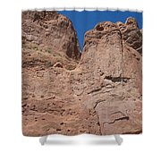 Colorado Redrock Shower Curtain