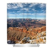 Colorado River And The Grand Canyon Shower Curtain