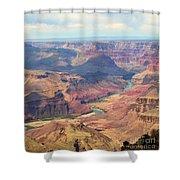 Colorado River Grand Canyon  Shower Curtain