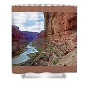 Colorado River Shower Curtain