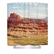 Colorado River View Shower Curtain