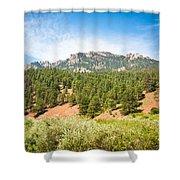 colorado Rockies 13 Shower Curtain