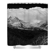 Colorado Rocky Mountains Continental Divide Shower Curtain