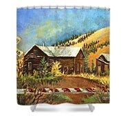 Colorado Shed Shower Curtain