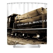 Colorado Southern Railroad 1 Shower Curtain