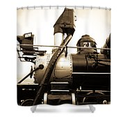 Colorado Southern Railroad 3 Shower Curtain