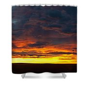 Colorado Sunrise February Shower Curtain