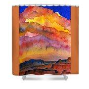 Colorado Sunset Shower Curtain
