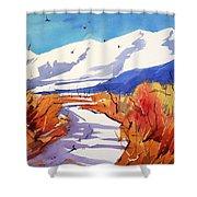 Colorado Winter 2 Shower Curtain