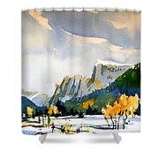 Colorado Winter 5 Shower Curtain