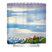 Colorado Winter 7 Shower Curtain