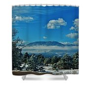 Colorado Winter Shower Curtain