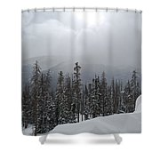 Colorado Winter Peace Shower Curtain