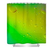 Colored Artistic Background Shower Curtain