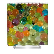 Colored Balls Shower Curtain