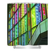 Colored Glass 1 Shower Curtain