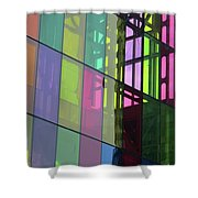 Colored Glass 11 Shower Curtain