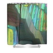 Colored Glass 15 Shower Curtain