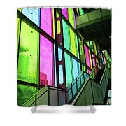Colored Glass 2 Shower Curtain